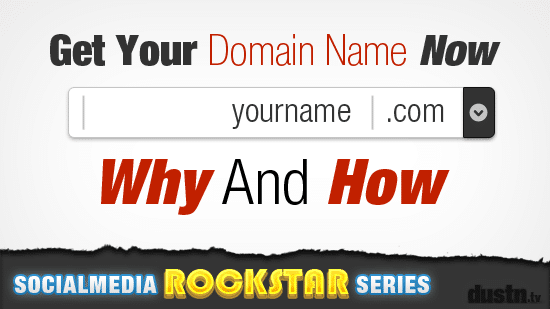 get your domain name now