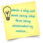idea post-it note