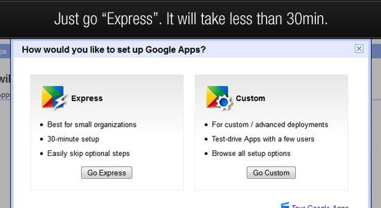 google apps step 3
