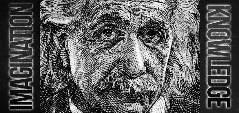 Albert Einstein On Imagination Vs Knowledge