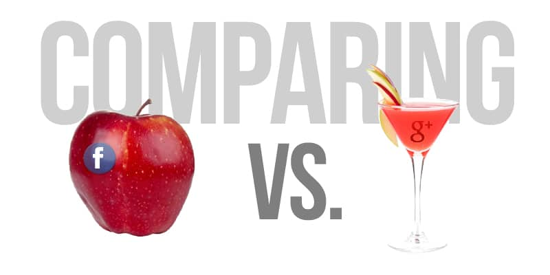 compare apples to apple martinis