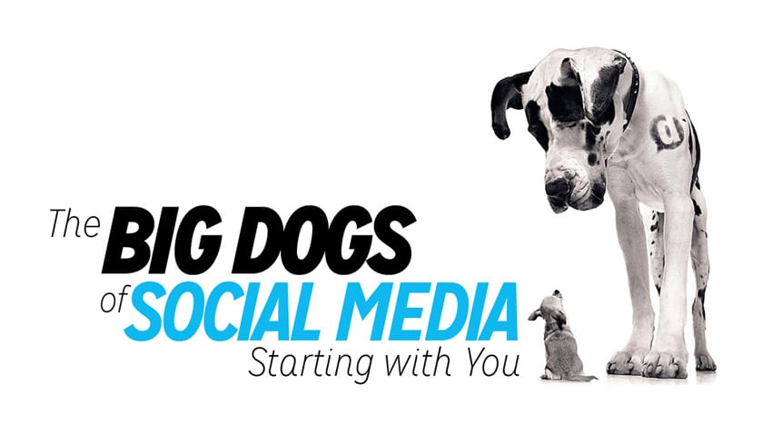 the big dogs of social media