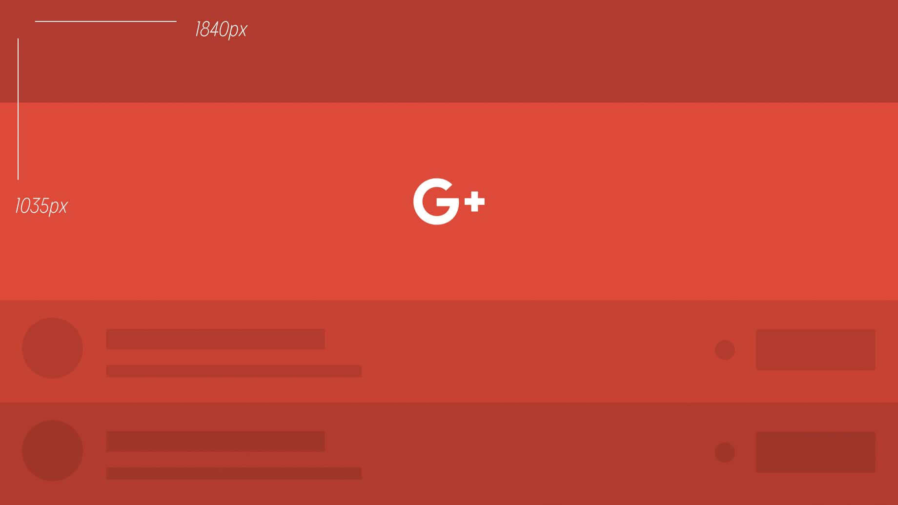 template for google plus cover photos