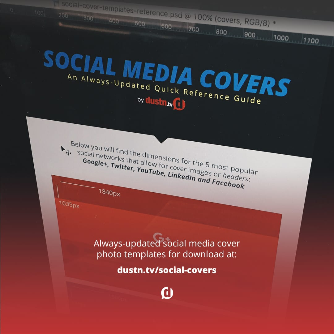 square image for Social Media Cover Photo Templates