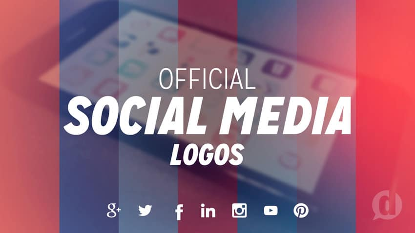 social media logo files