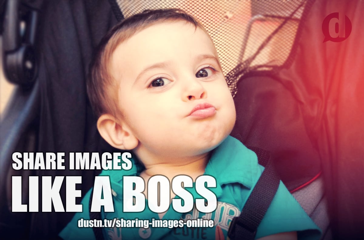 sharing images online like a boss