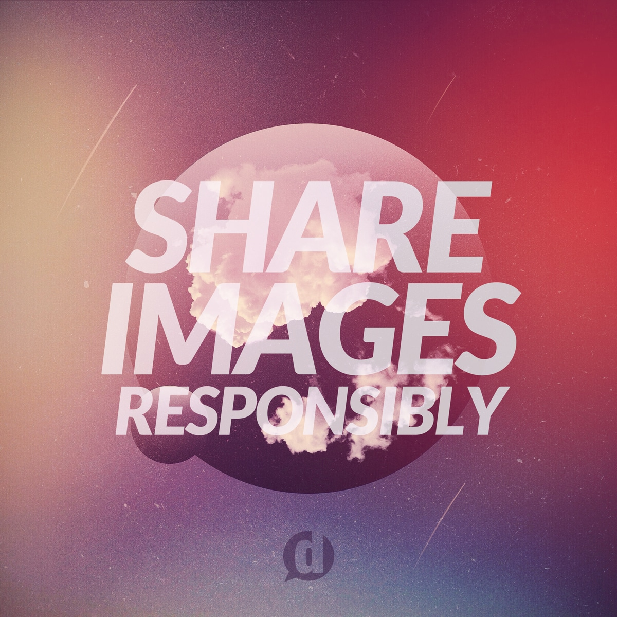 share images responsibly