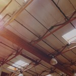 industrial ceiling angle