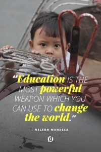 education changes the world quote