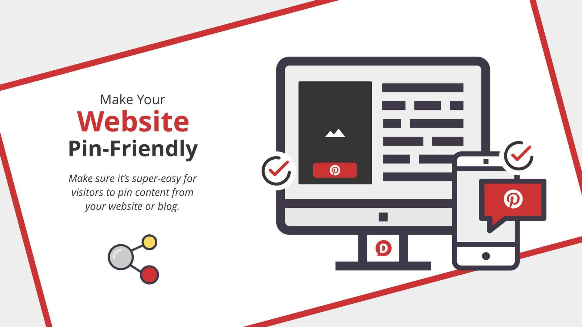 pinterest friendly website