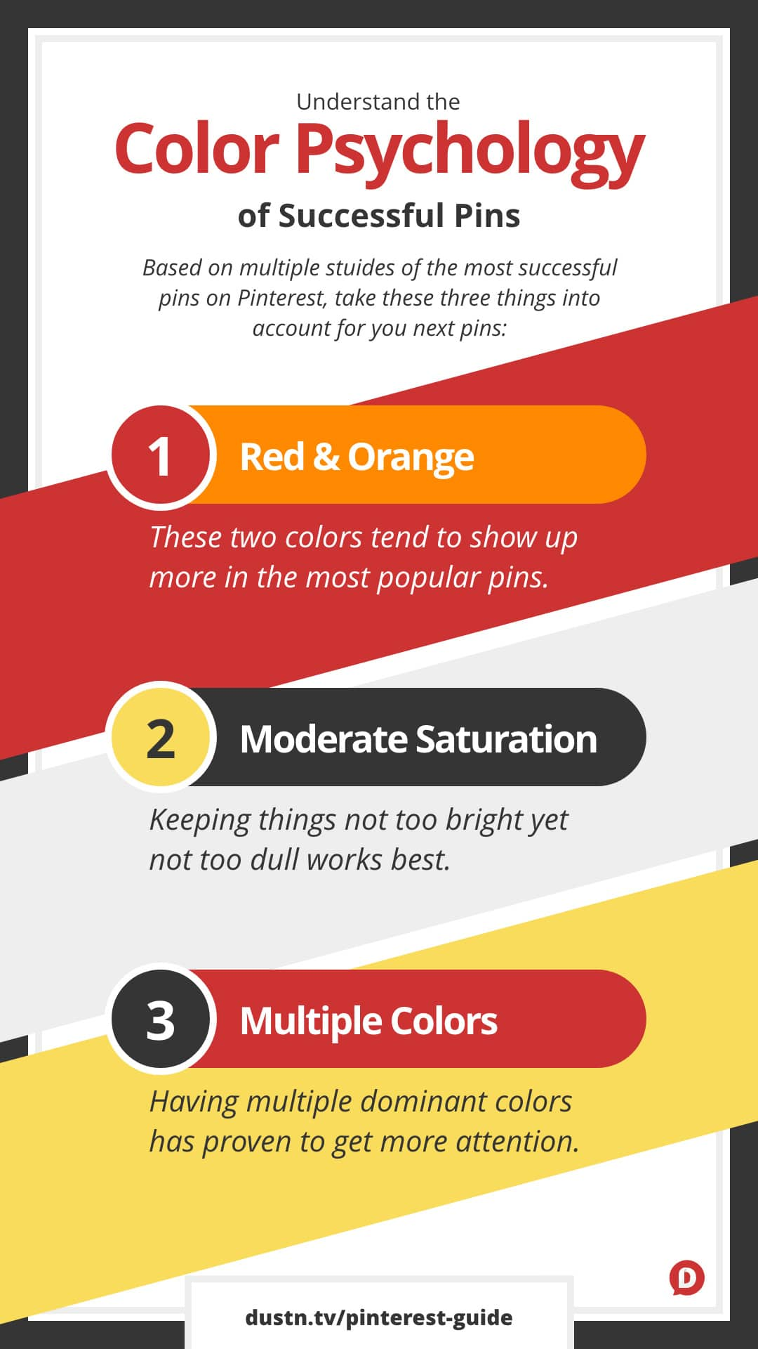 pinterest color psychology infographic