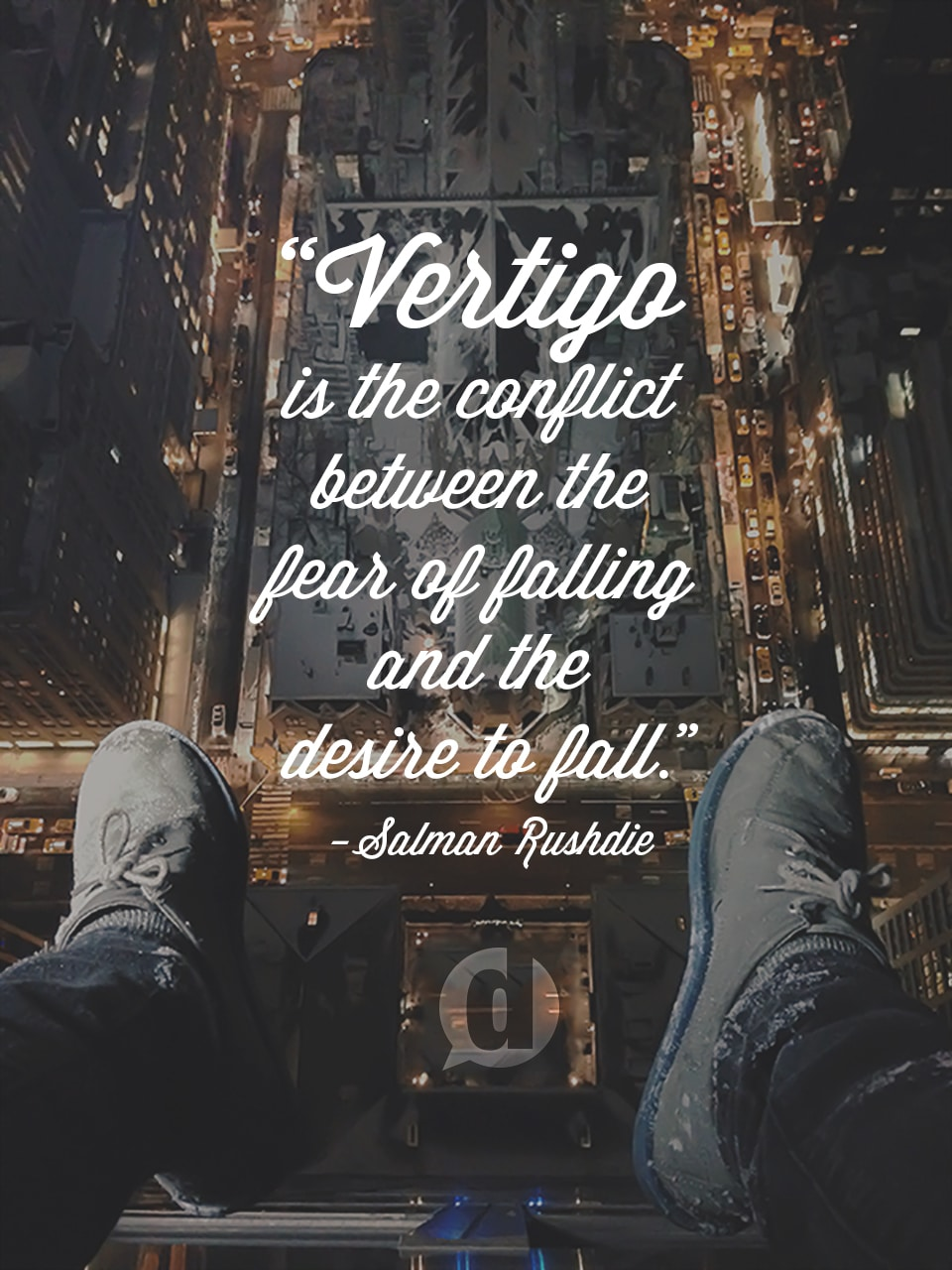 vertigo quote