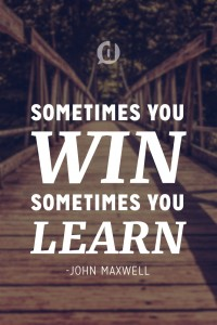 win learn quote