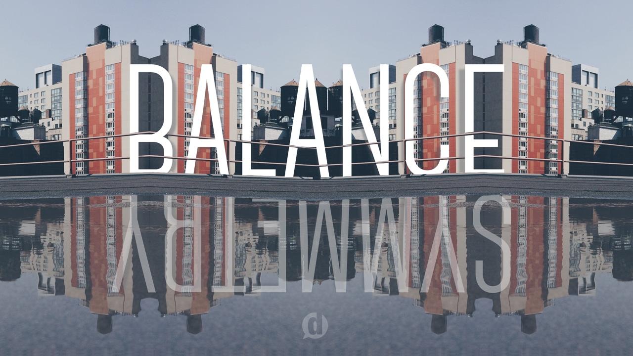 balance and symmetry