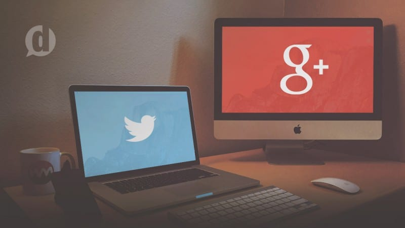 twitter and google+ content marketing strategy