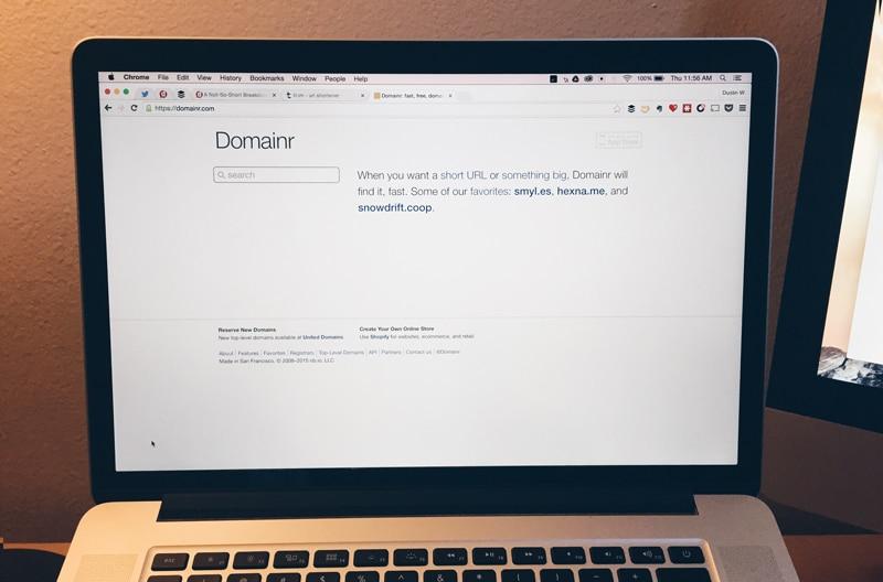 domainr website