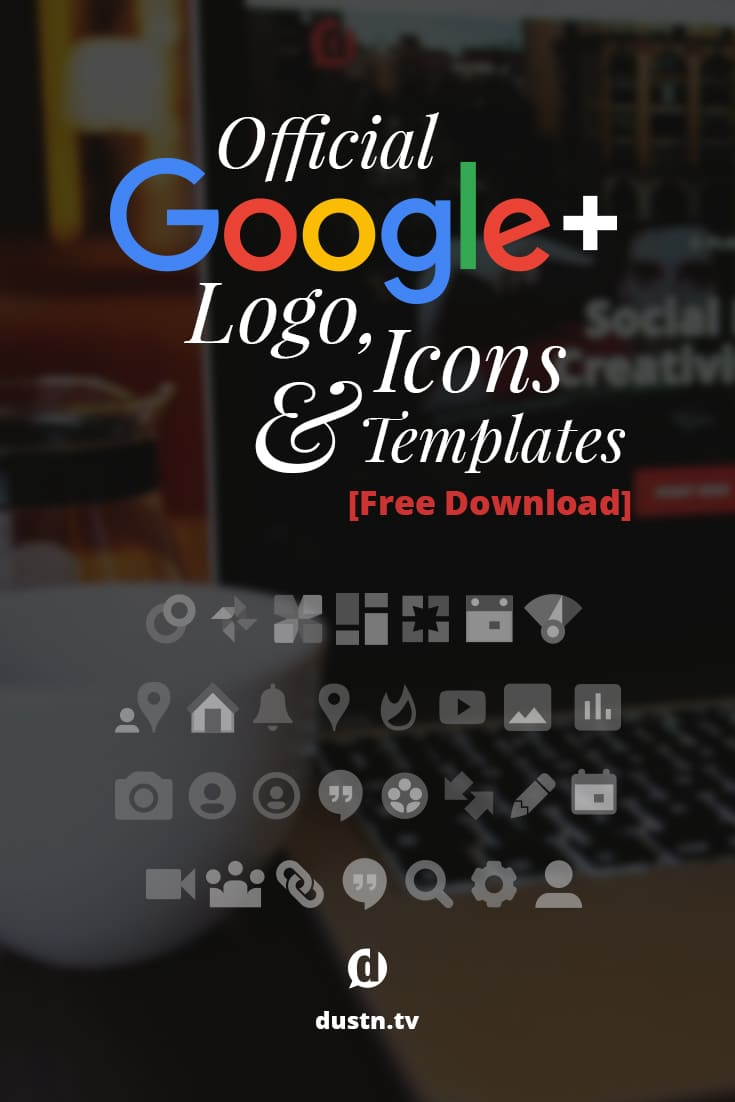 Stop using outdated, tired and tacky-looking logos for your Google+ content. I've compiled a free downloadable set of the official Google+ logo, icons and templates. Seriously-- there\'s so much here, you will probably never use it all.