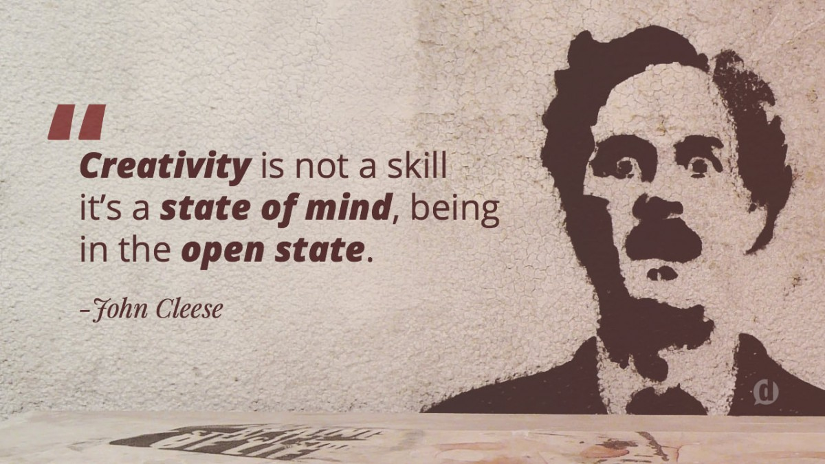 john cleese quote on creativity