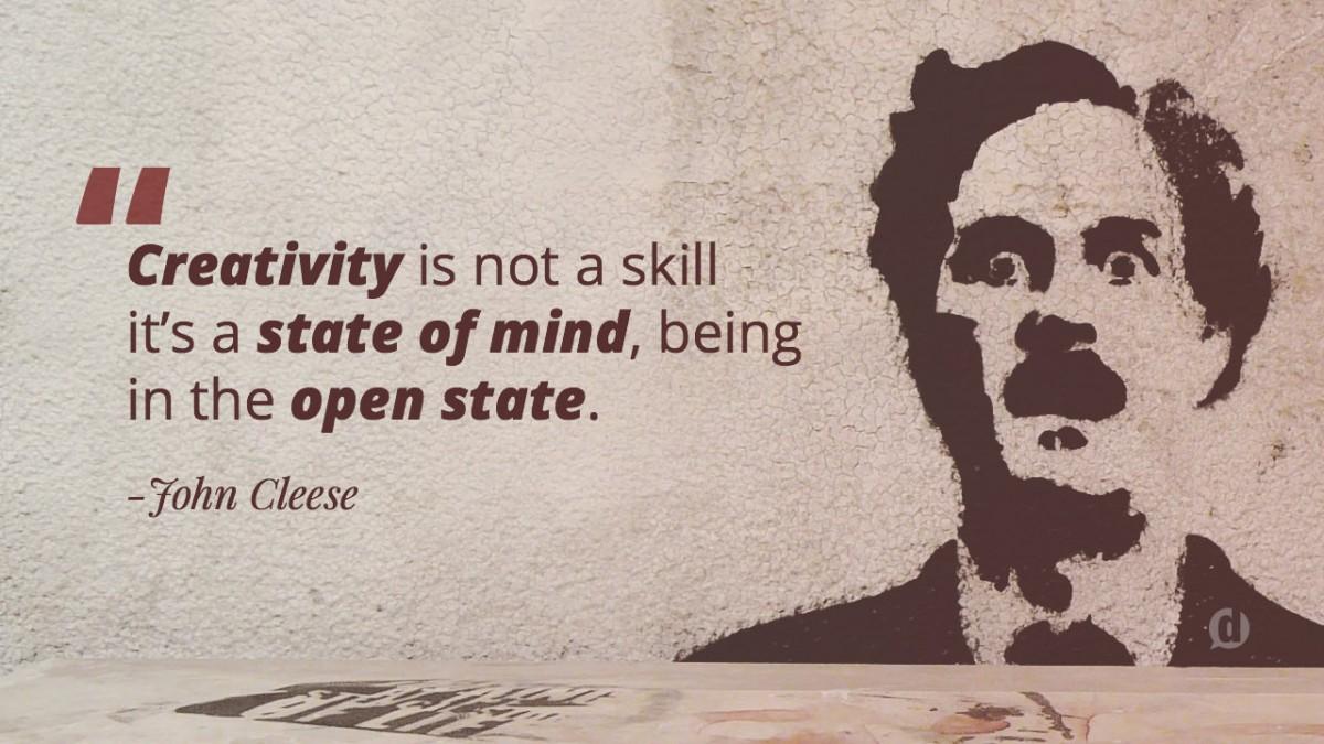 john cleese quote on creativity