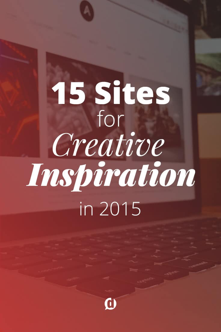 This list of websites and ideas will keep you inspired in 2015. From photography, creative writing, design and social media this hand-picked list wont disappoint!