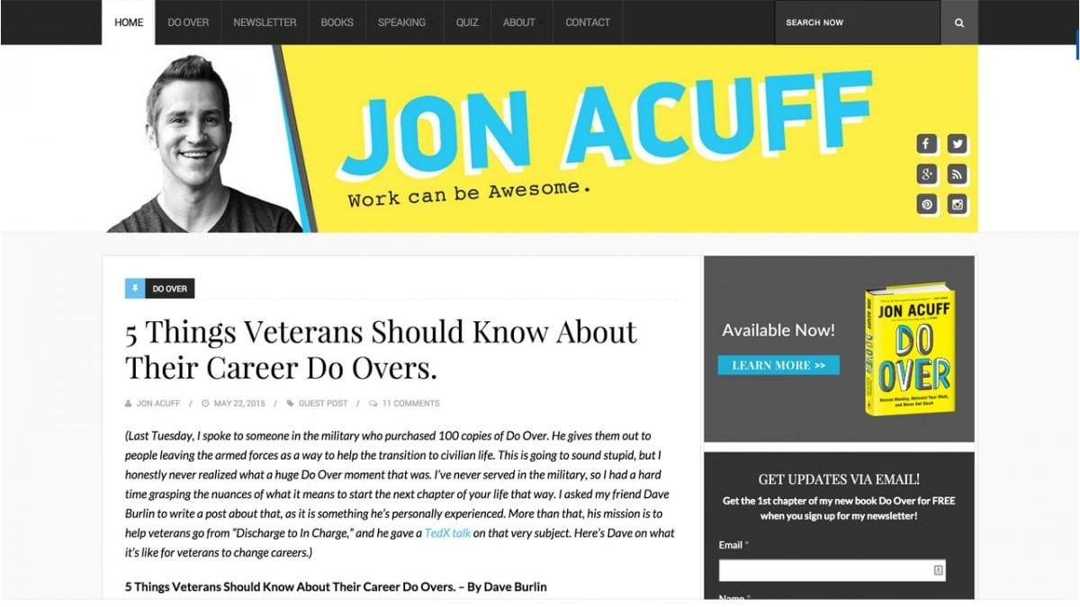jon acuff blog