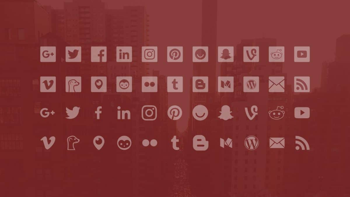 STOP: This is the Only Social Icon Set You'll Ever Need