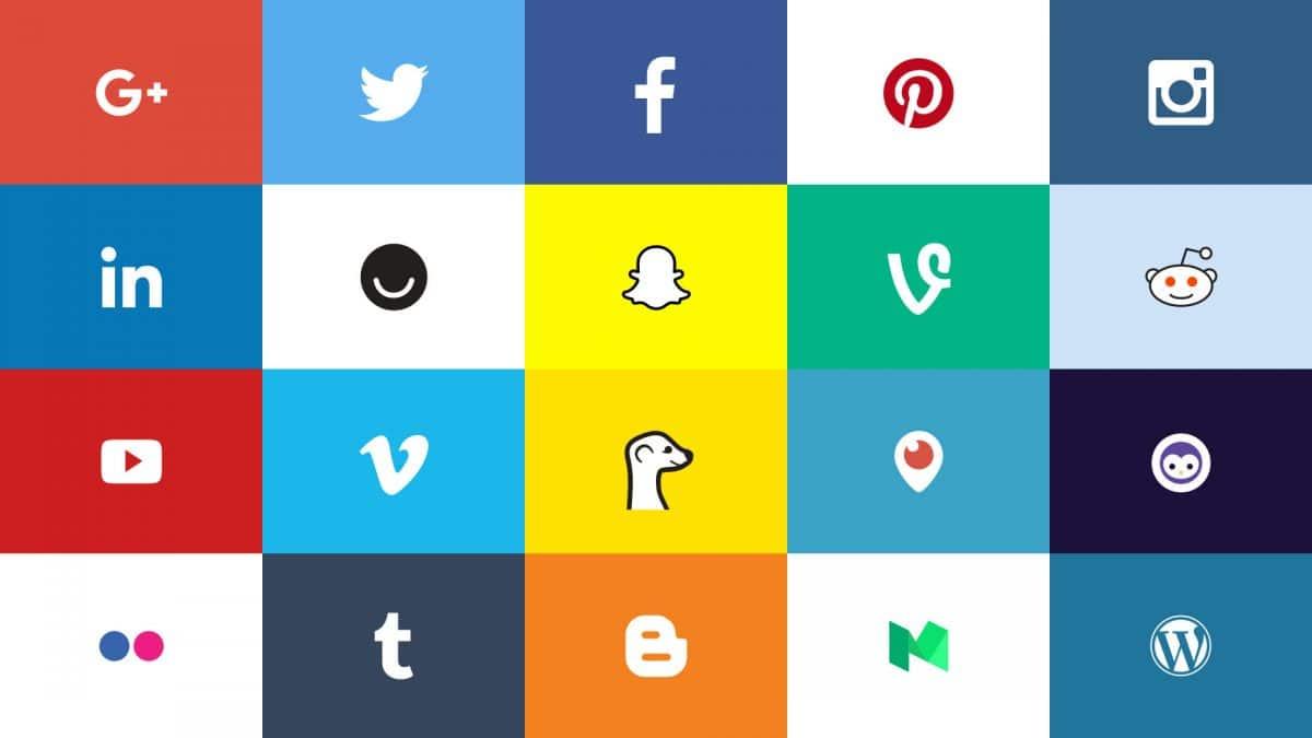 Always-Updated Official Social Media Logos