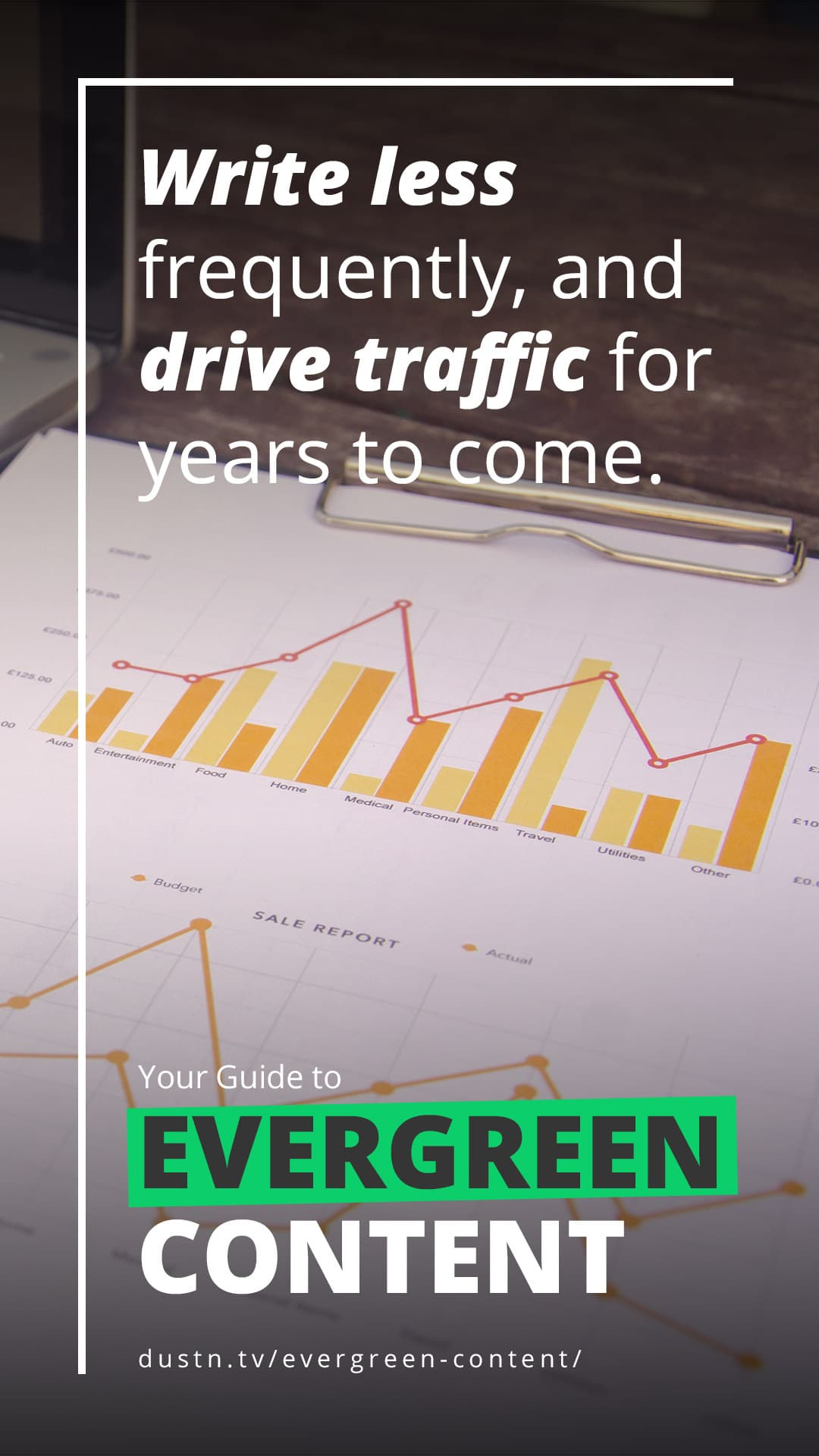 How to Get More Traffic Without More Writing (Think Evergreen)