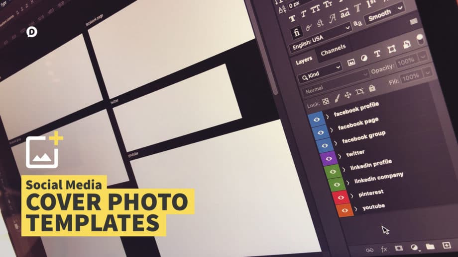 social media cover photo templates