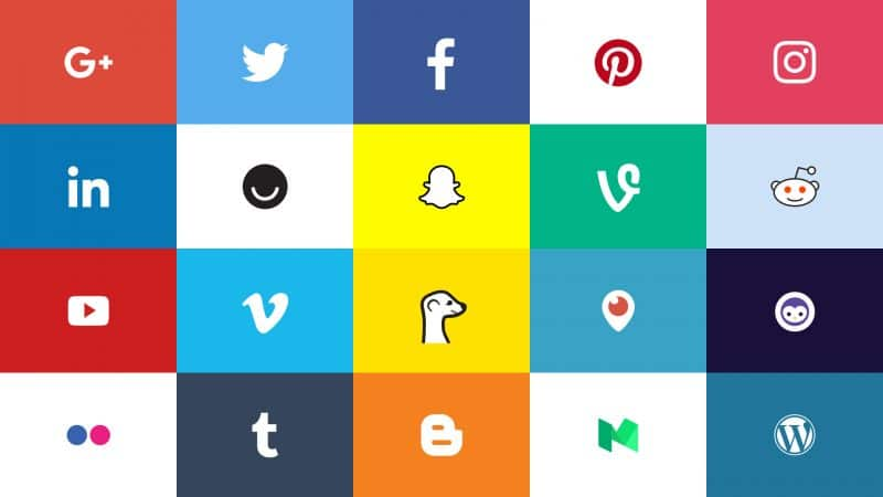 Always-Updated Official Social Media Logos