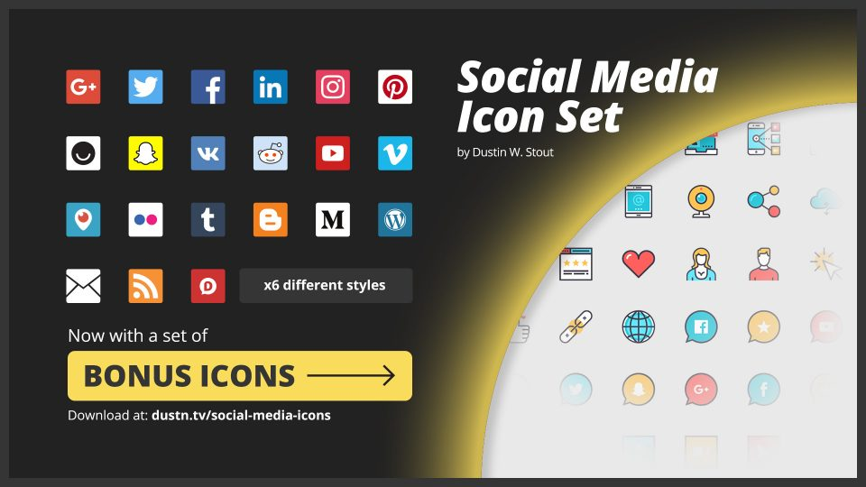 Free Social Media Icons: Always Updated with Current Logos