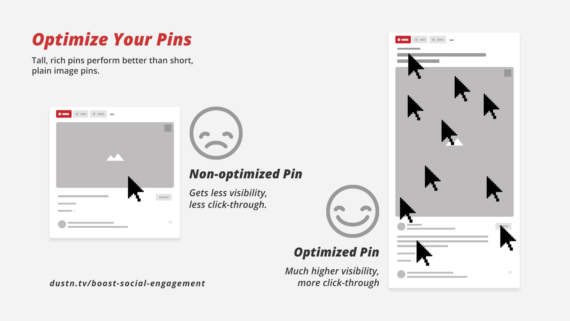 optimize your pins