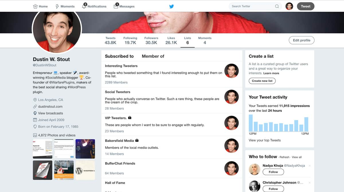 how to add my twitter page to my website