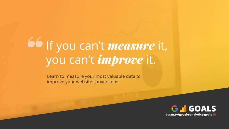 if you can't measure it quote