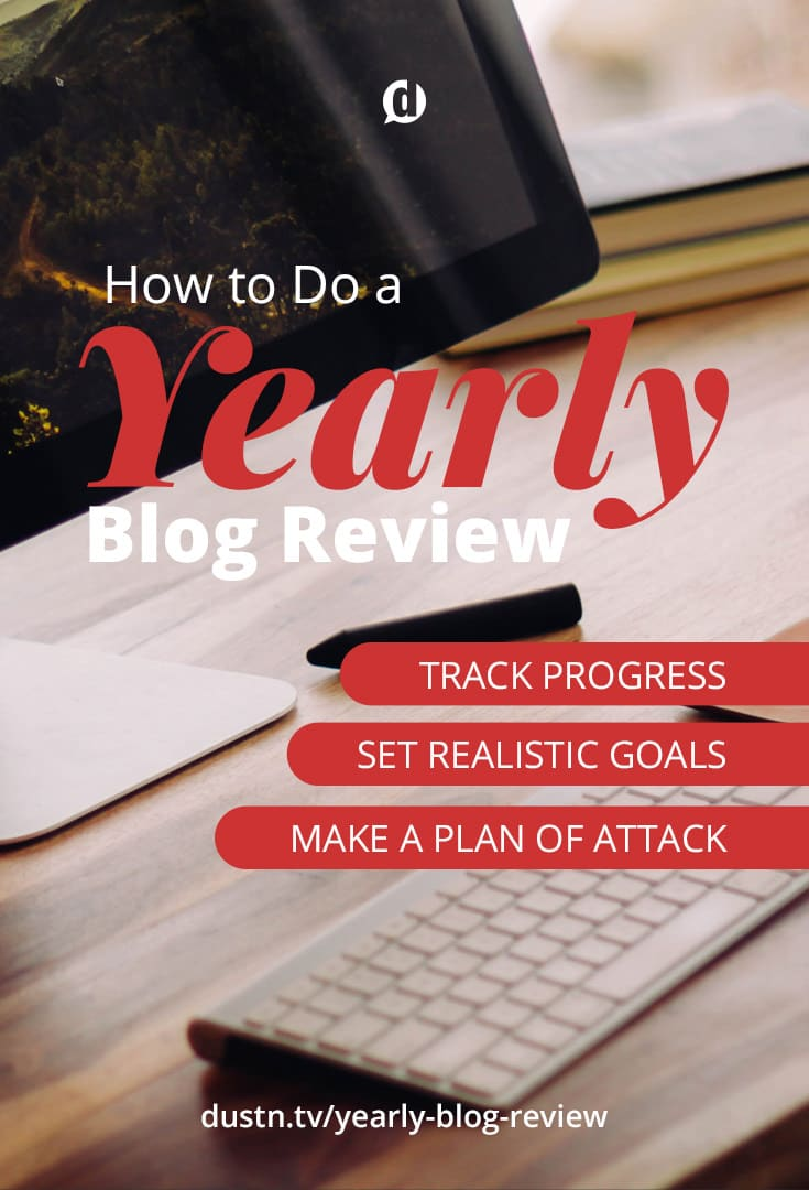How to Do a Yearly Blog Review