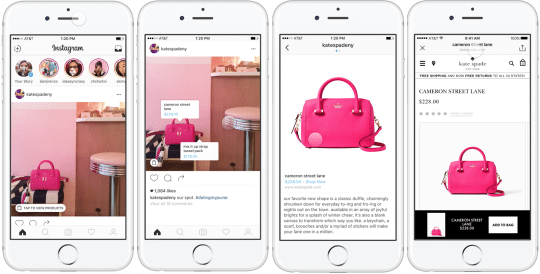 instagram product tags workflow