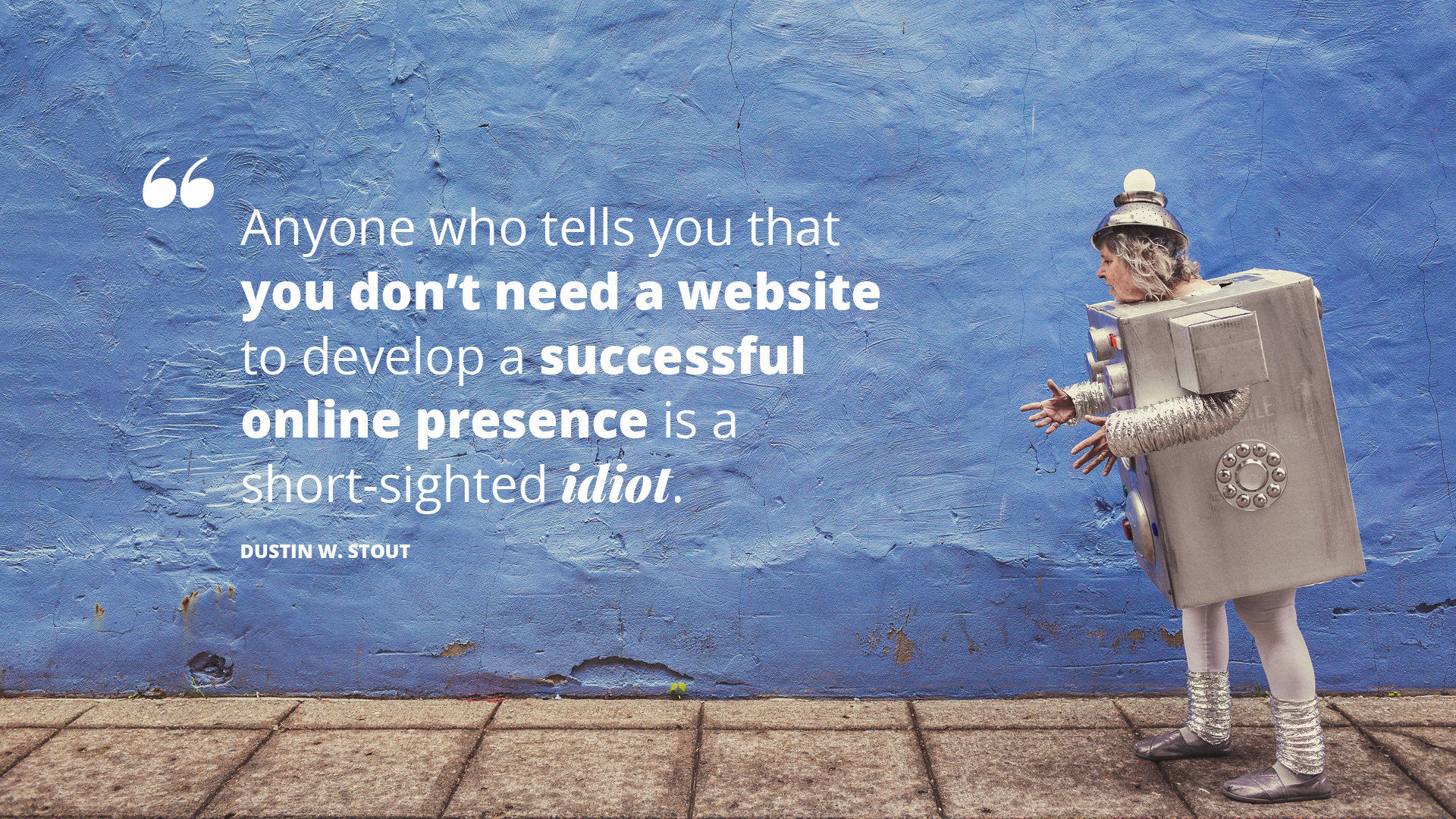 biggest social media mistake quote
