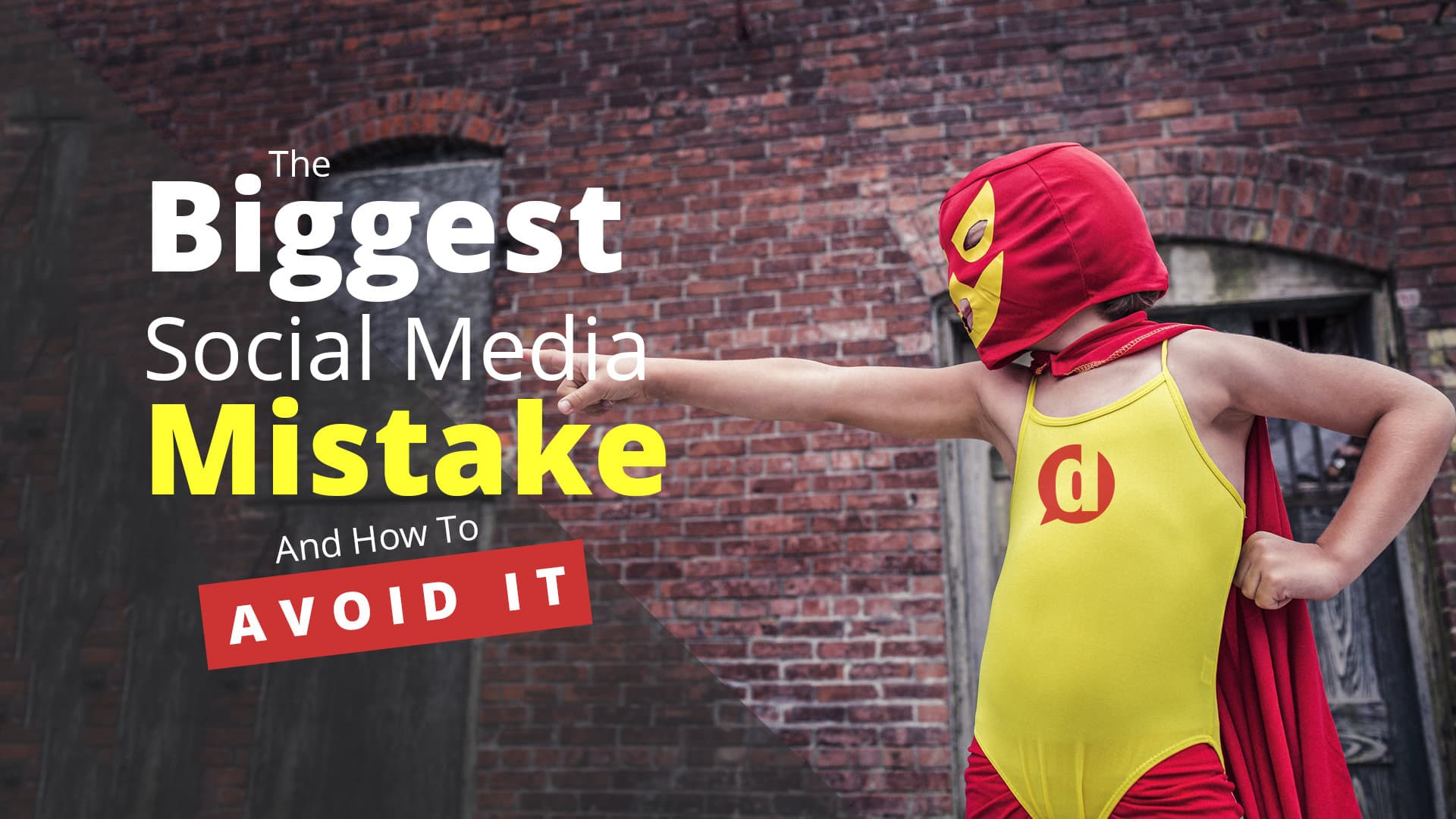 The Biggest Social Media Mistake (and How to Avoid It)