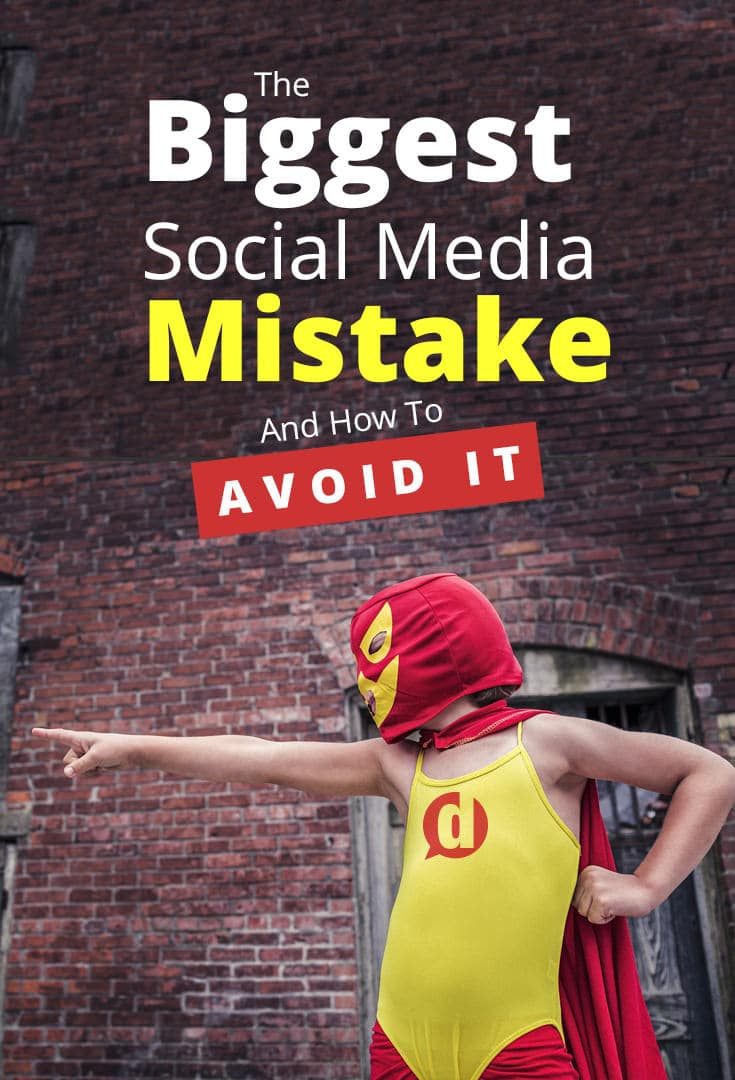 Working to grow your audience online? Don\'t make this fateful social media mistake! It could spell disaster!