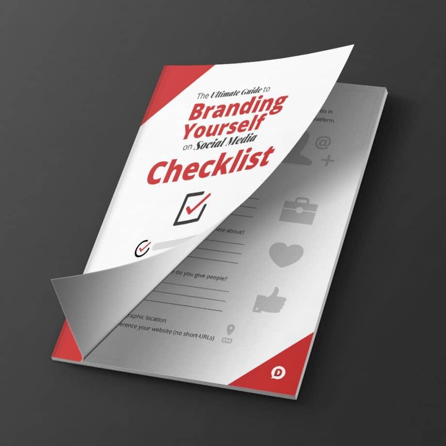 branding social media checklist