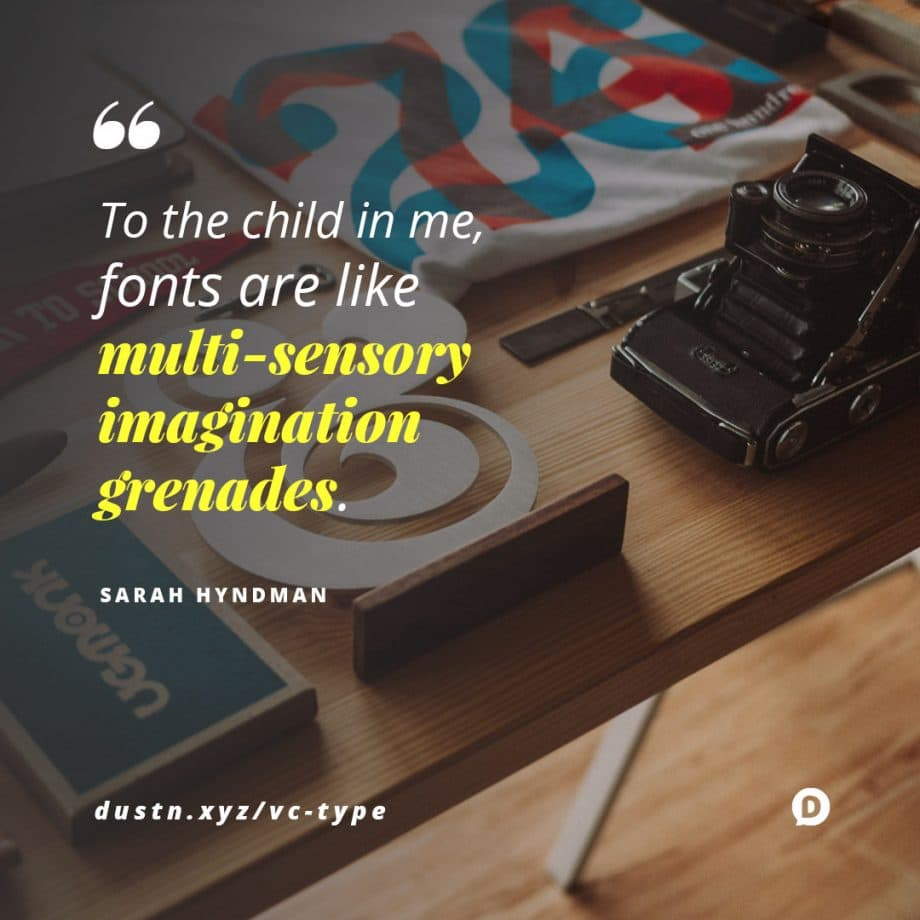 fonts quote