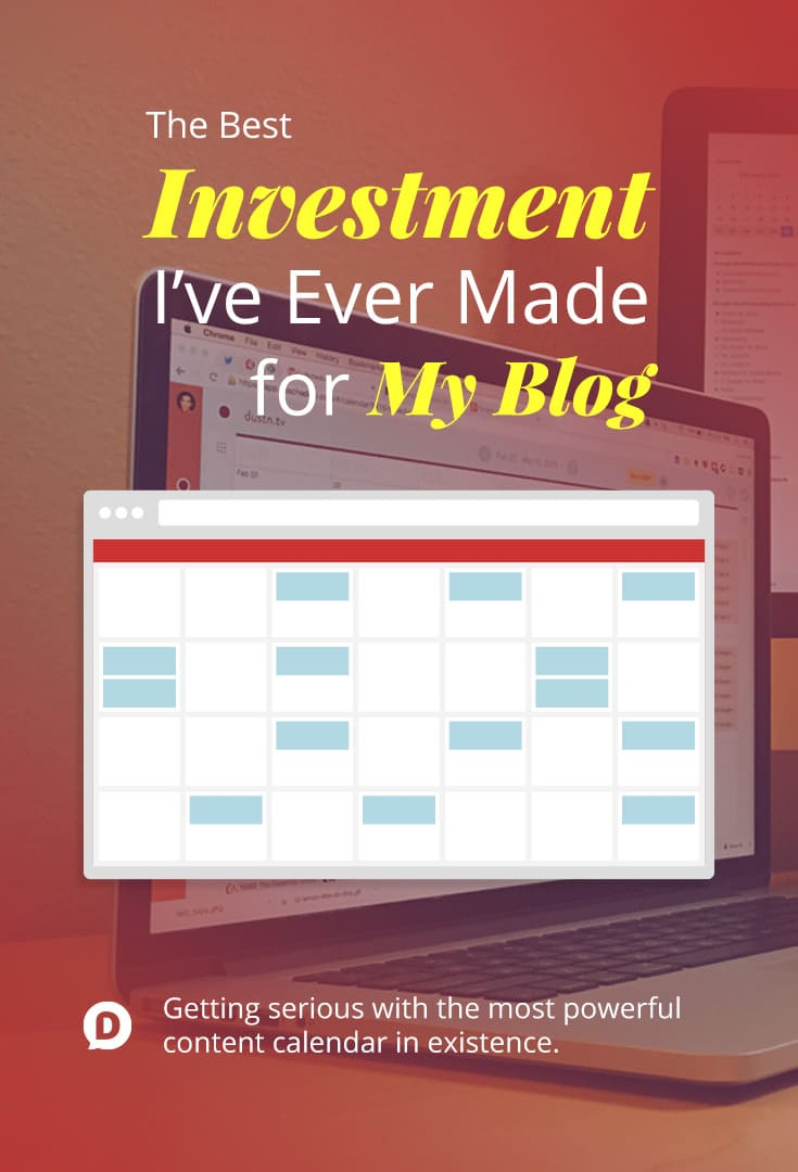 The Best Investment I\'ve Ever Made for My Blog: CoSchedule