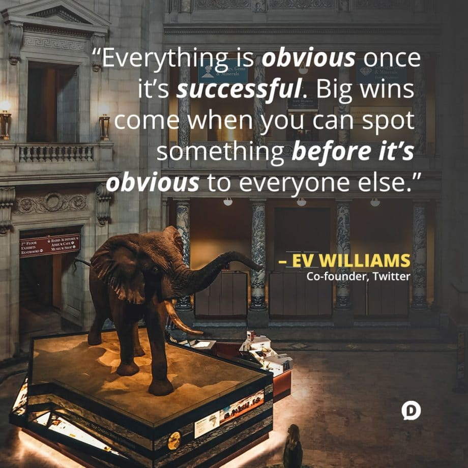 ev williams opportunity quote