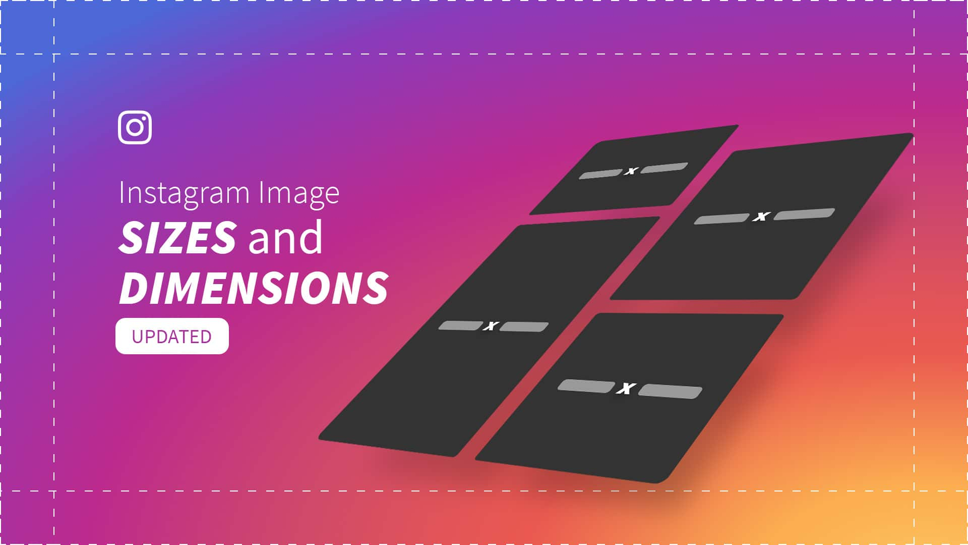 instagram sizes and dimensions