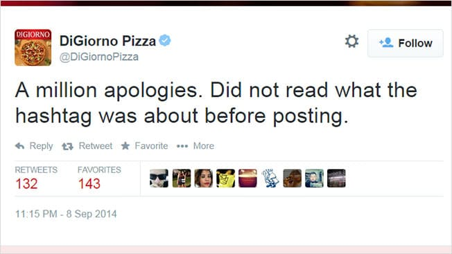 digiorno apology tweet