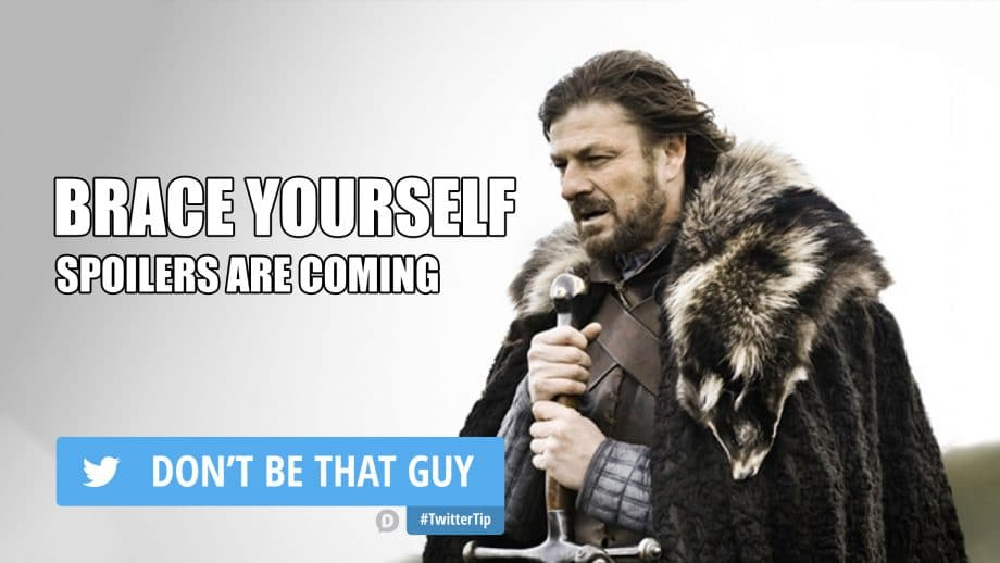 brace yourself how to use twitter tip meme