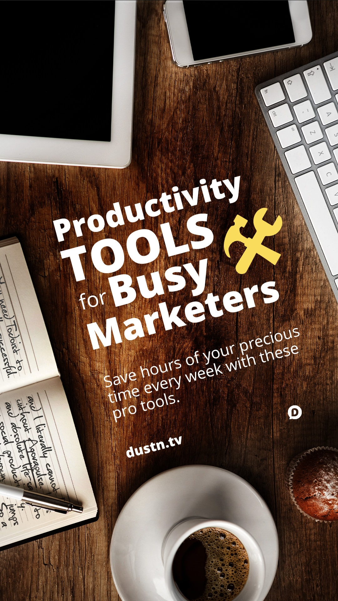 Get the most productivity out of your day if you\'re a marketer with these professional grade tools. The best news is, they won\'t break your budget! #marketing #productivity #socialmedia #apps