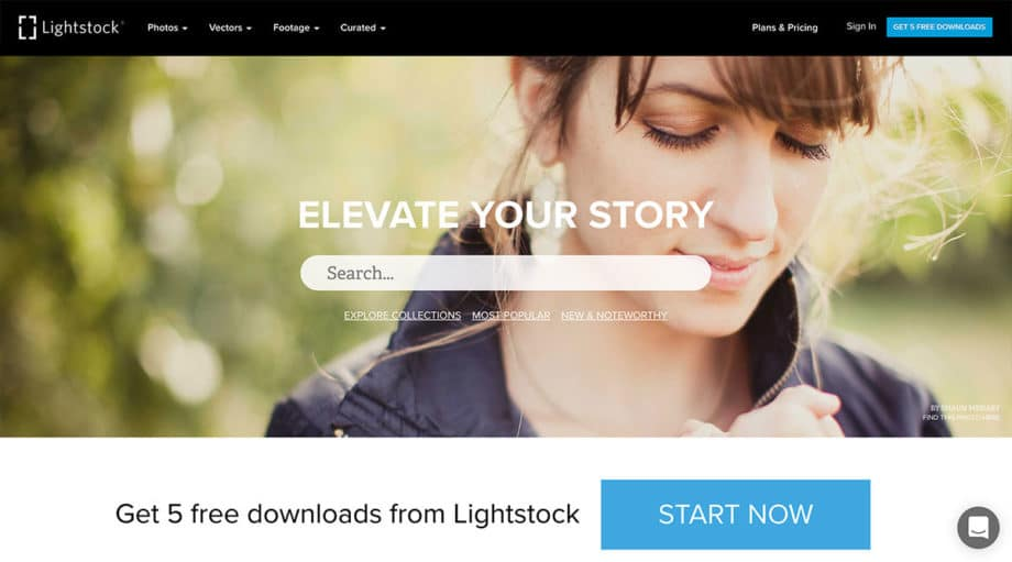 lightstock free photos screenshot