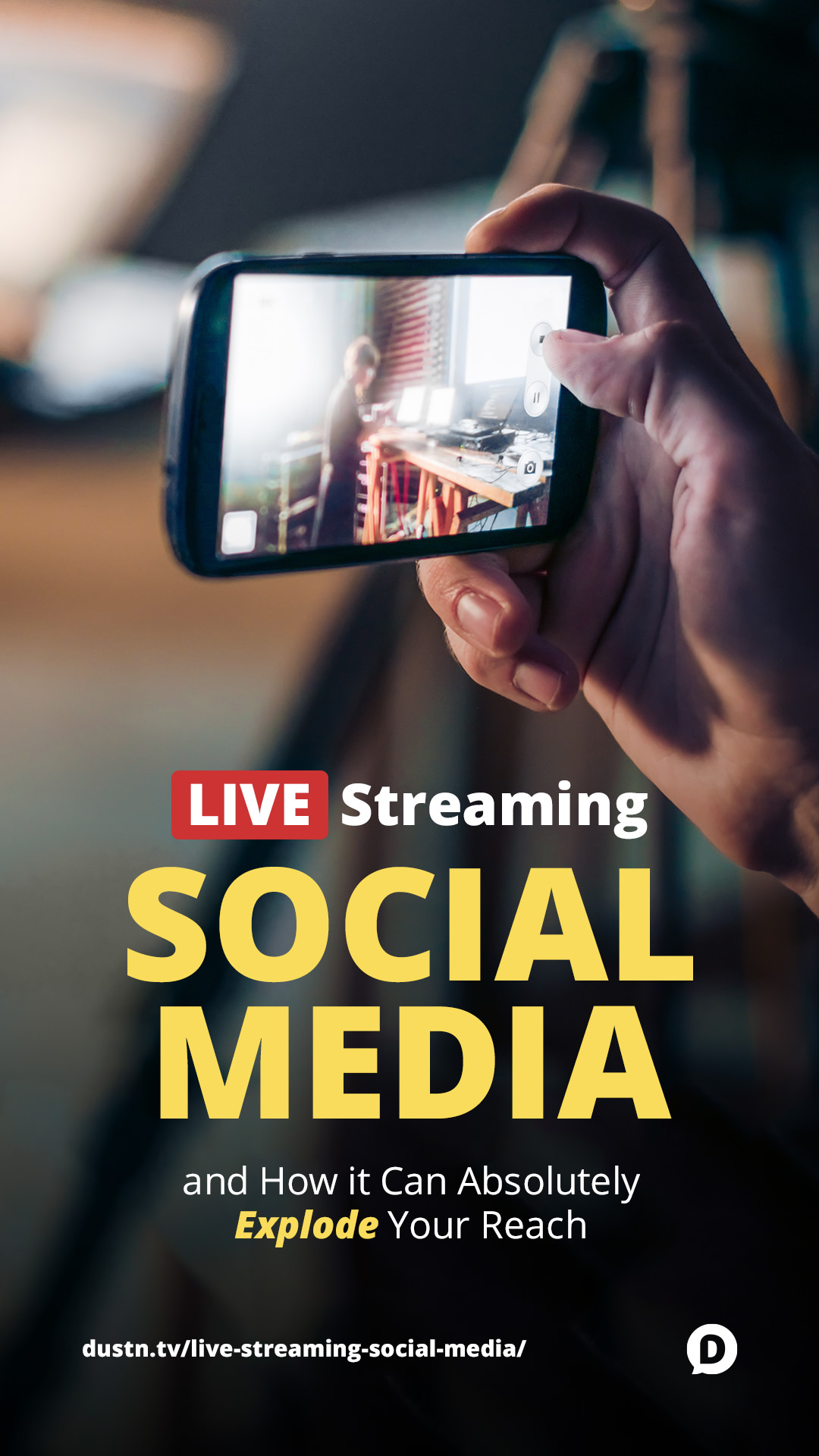 How Live Streaming Social Media Can Explode Your Reach