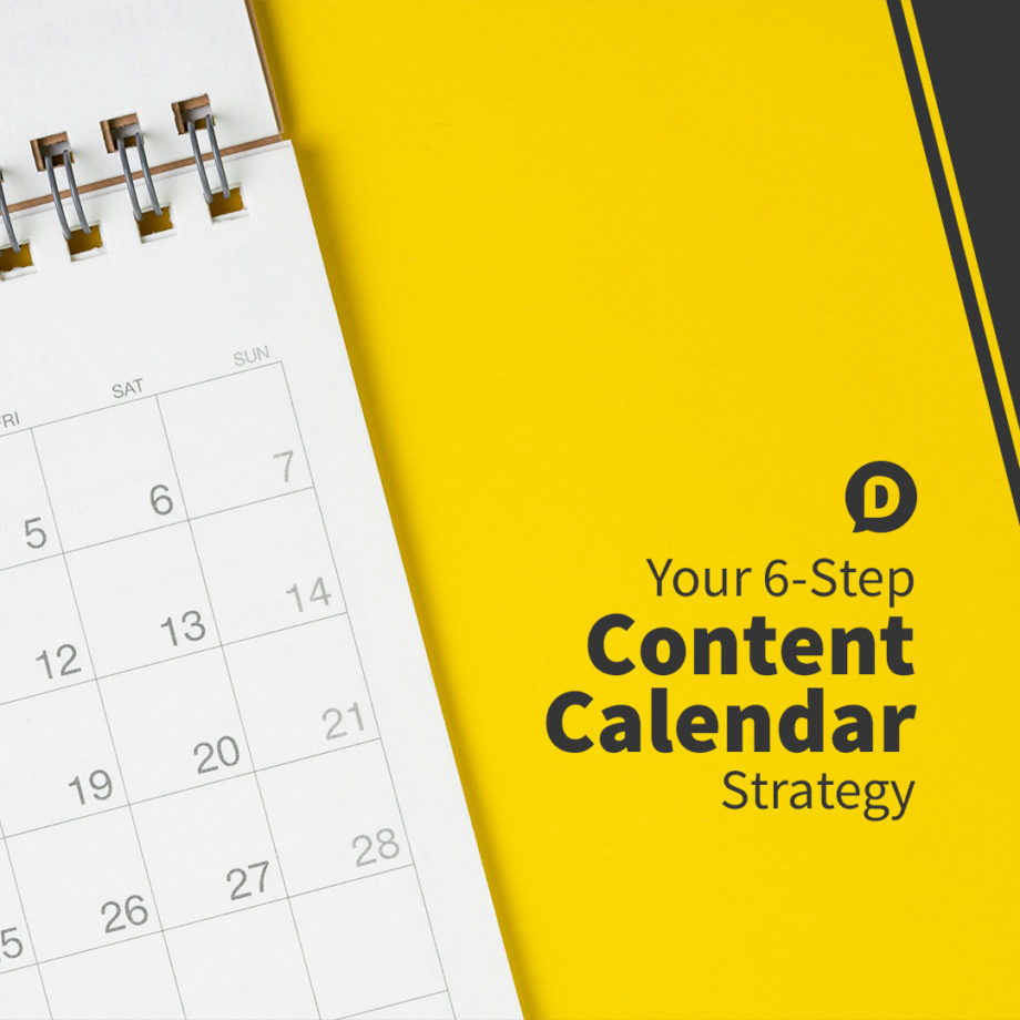 Content Calendar Strategy 2021
